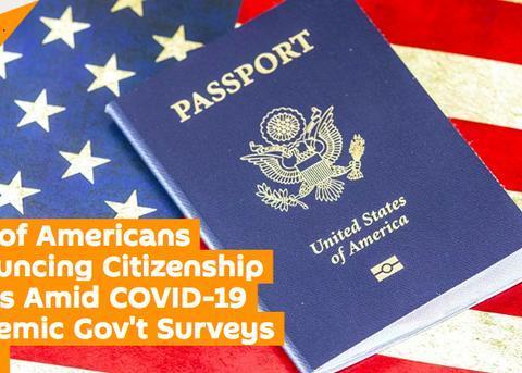 今年上半年放弃美国国籍人数激增,多达5816人,创下新历史纪录