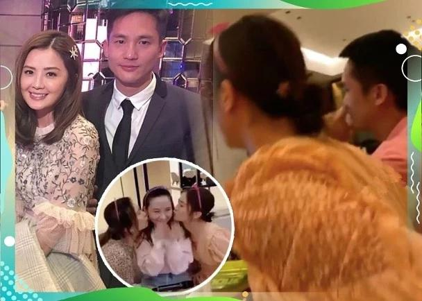 蔡卓妍到男友家为未来小姑子庆生 早已融入男方家里随时结婚