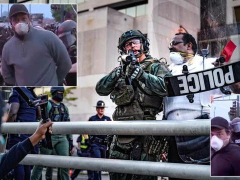 美国秘密警察专打记者,612起殴打和抓捕记者,法官要求必须停手