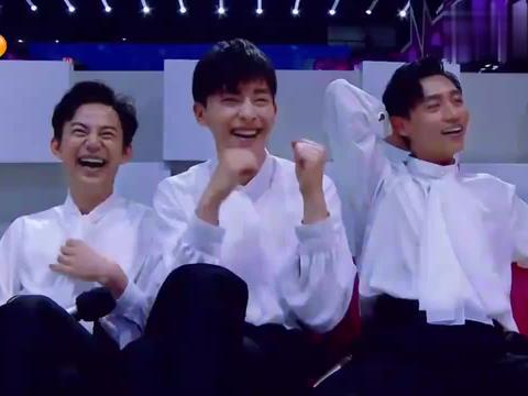 哪位大咖在表演节目?王源跟着互动一起摇摆,邓伦想上去尬舞