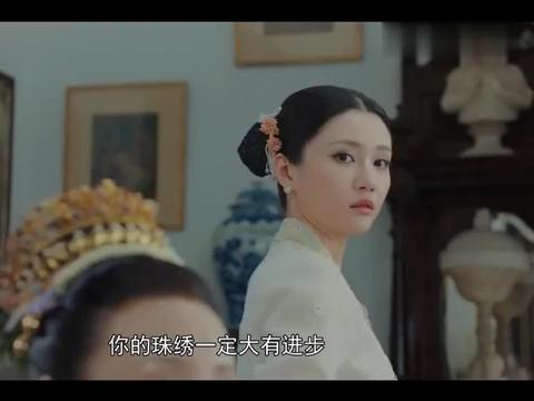 陈老太想看珠绣,头家娘竟换掉美玉和菊香的珠绣,太气人了!