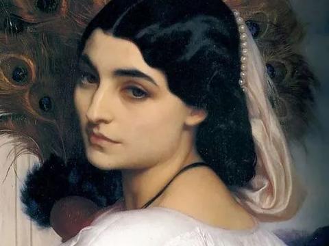 19世纪末,英国皇家艺术学院院长的唯美油画!