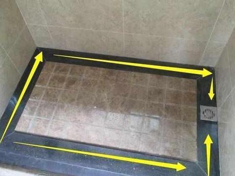 淋浴房拉槽这样设计,效果真不赖