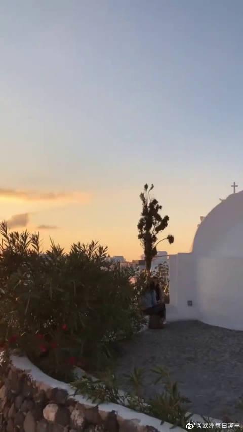 希腊浪漫之城,这是梦想中的地方,太美了