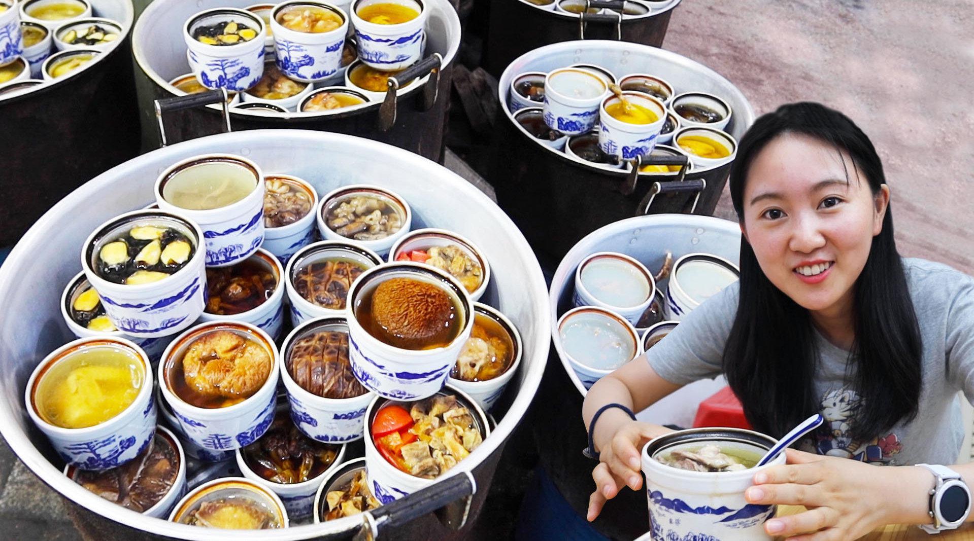 不仅广东有靓汤,江西南昌也有。在南昌,比较出名的是瓦罐煨汤……