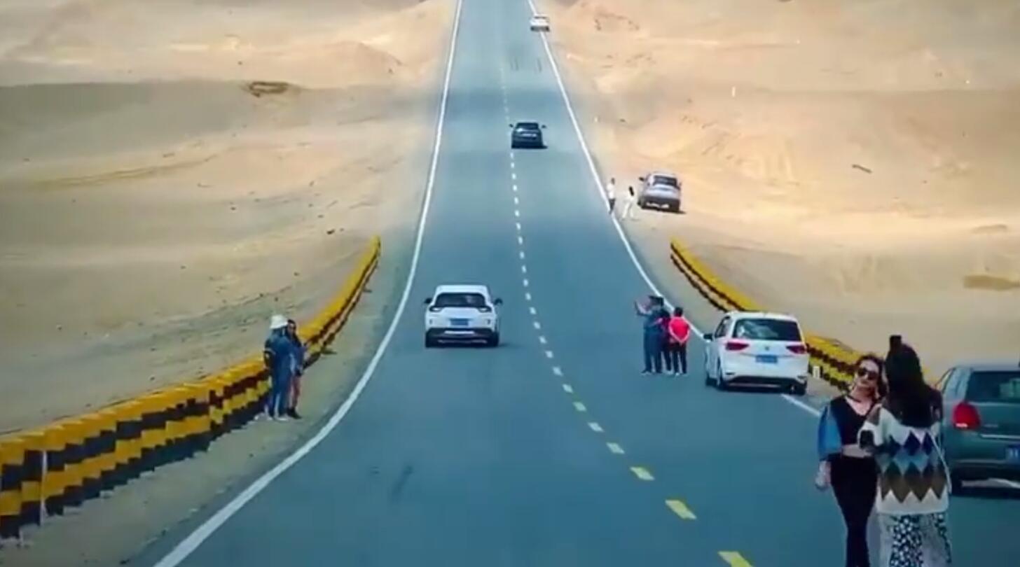 青海网红公路因拍照发生8起交通事故 拿命拍照屡禁不止
