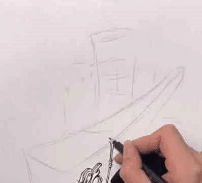 """美术生画""""筷子"""",看到成品后,网友:请问筷子是神仙下凡吗?"""