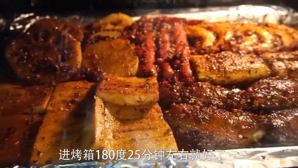 教你做烤箱版的烧烤,下班回家的时候可以做来吃哦……