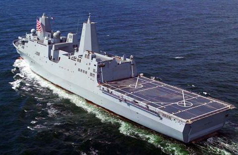 圣安东尼奥级船坞运输舰,它有多先进,单价要17.6亿美元?
