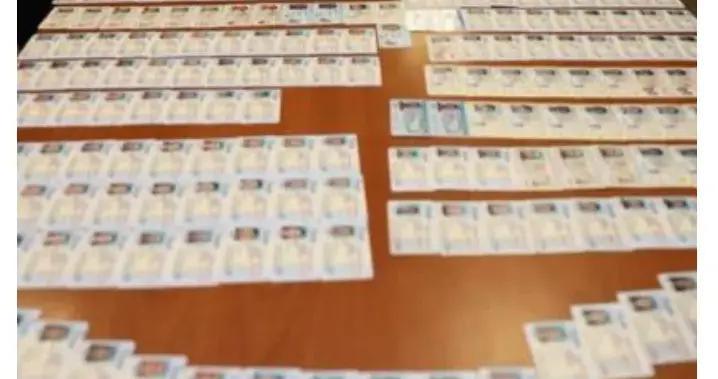 美国海关截获2万张假驾照