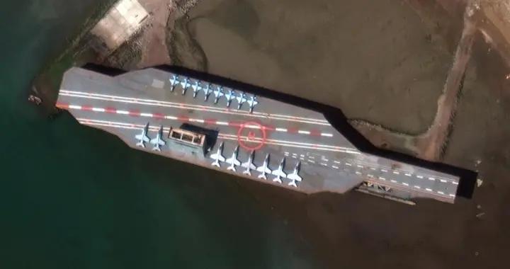 """美媒:""""美国航母""""被伊朗击沉后堵住航道 成一大安全隐患"""