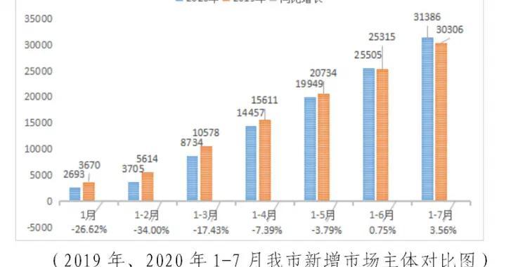 从-26%到+3.56%!柳州市场主体稳步增长,总数突破30万户