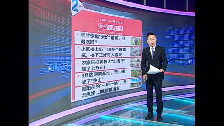 """贵州十大热议:毕节惊现""""天价""""葡萄,值得吃吗?"""