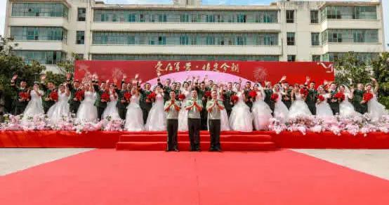 爱在军营 情定今朝:集体婚礼让他们从军恋走向军婚