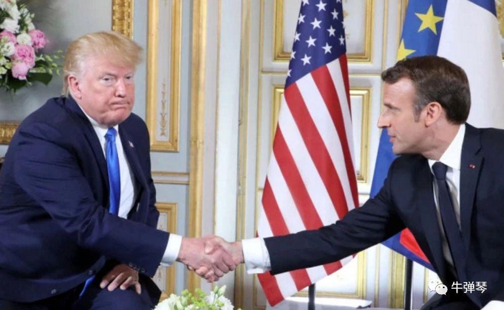"""马克龙越来越不简单!在黎巴嫩领土上""""驱赶""""黎总统"""