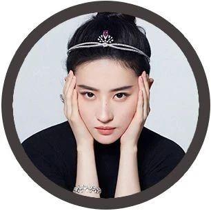 FAN动态丨刘亦菲钻石发箍造型 真·迪士尼公主!