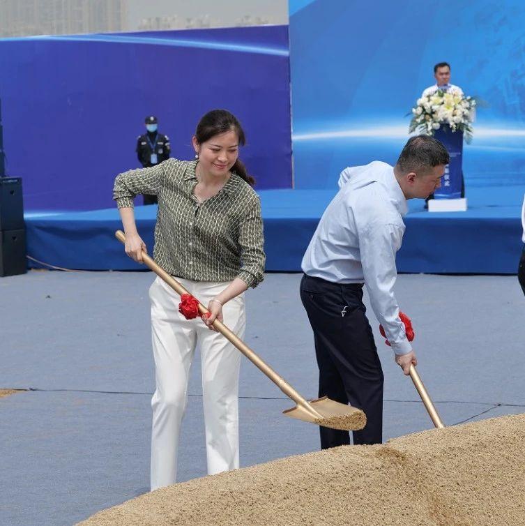 北京市二十一世纪国际学校青岛校区正式开工