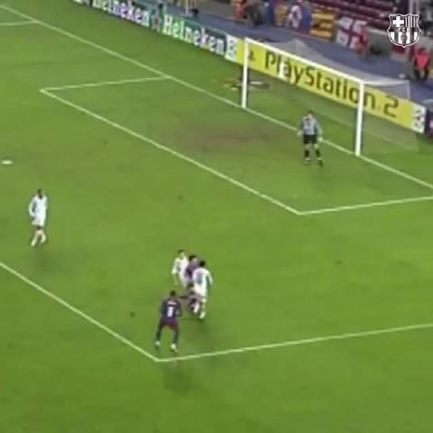 巴萨官方ins更新 细数梅西在欧冠赛场上分别面对35个被破门对手攻