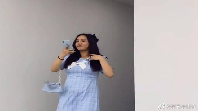 微胖女生在职场的不同穿搭,哪一套更好看呢,帮我选一下!