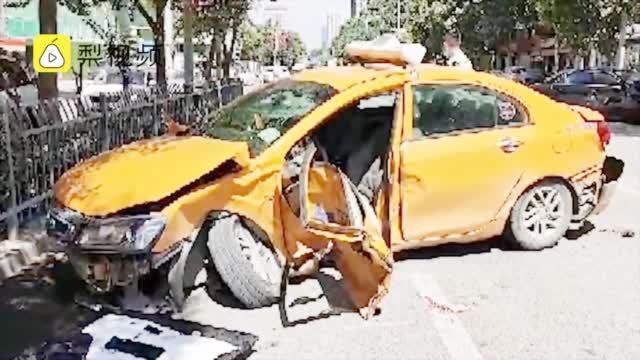 的哥违规掉头被超速奔驰撞身亡,奔驰车主罚1千扣12分