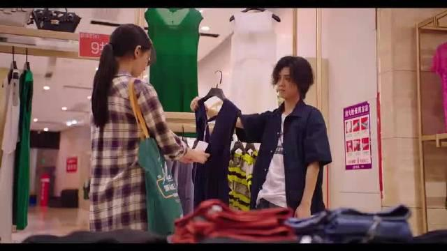 哈哈哈直男肖枫带着安蓝买衣服,明明就是想给人家买漂亮衣服了……