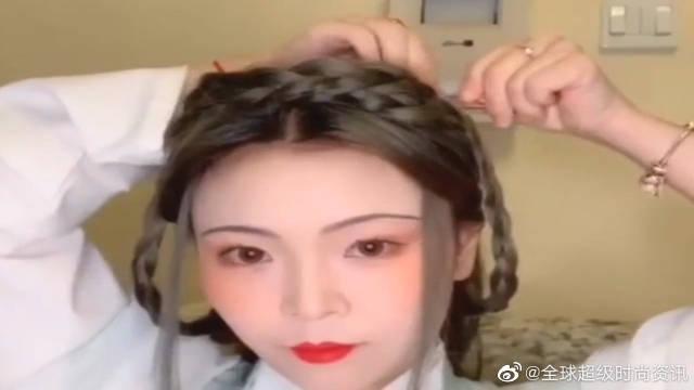 超美小姐姐美妆教程:绝美的古风妆容……