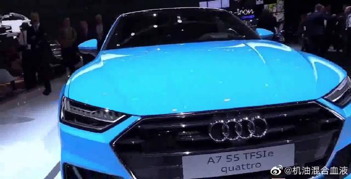 视频:奥迪全新A7亮相,贯穿式LED尾灯,奔弛宝马都羡慕了!