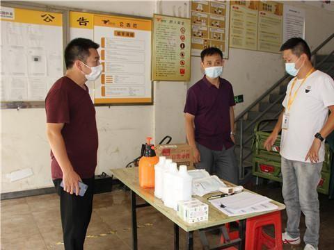 澧县商务局开展外卖配送企业疫情常态化防控工作