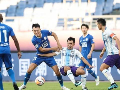 红牌+进球被吹!津冀大战精彩十足!石家庄永昌3-0大胜天津泰达!