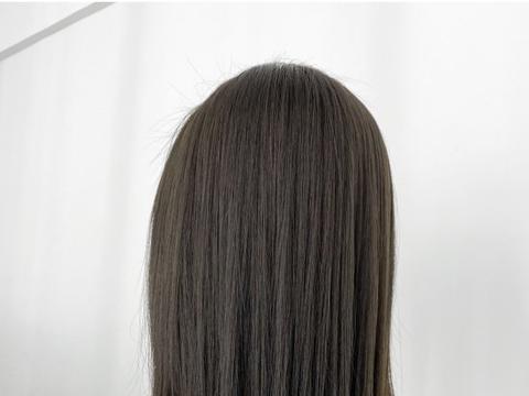 微潮色中的青棕褐染发技术,没那么难,用这样的方法染更标准