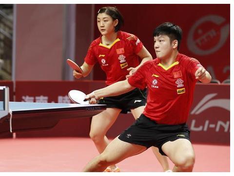 国乒奥运模拟赛混双四强产生 樊振东陈梦将大战二王组合争决赛权