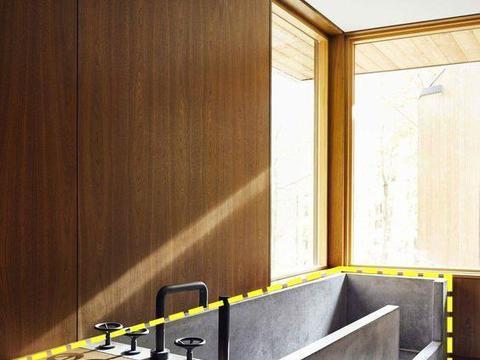 等我家装修也要做水泥浴缸,旁边拼接木柜多出5平做储物,赚到了