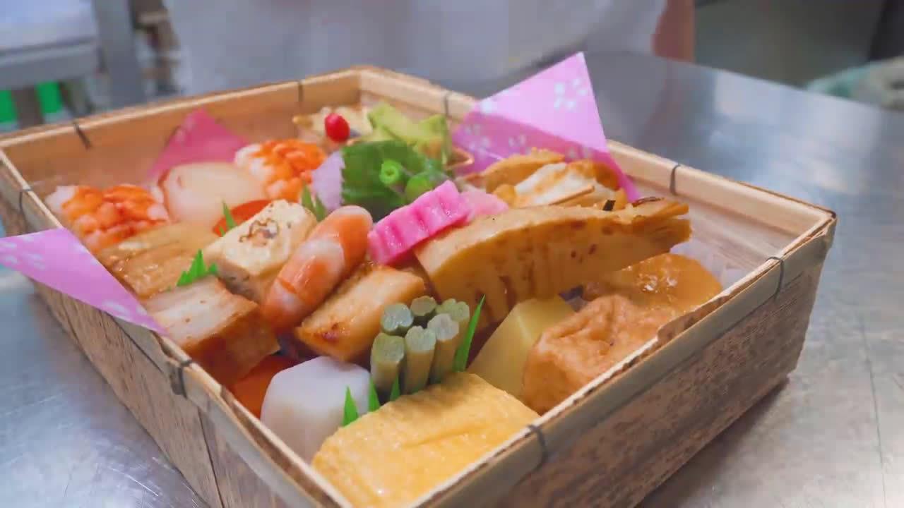 我晕了,这样的樱花午餐便当好吃又好看!:DELI BALI