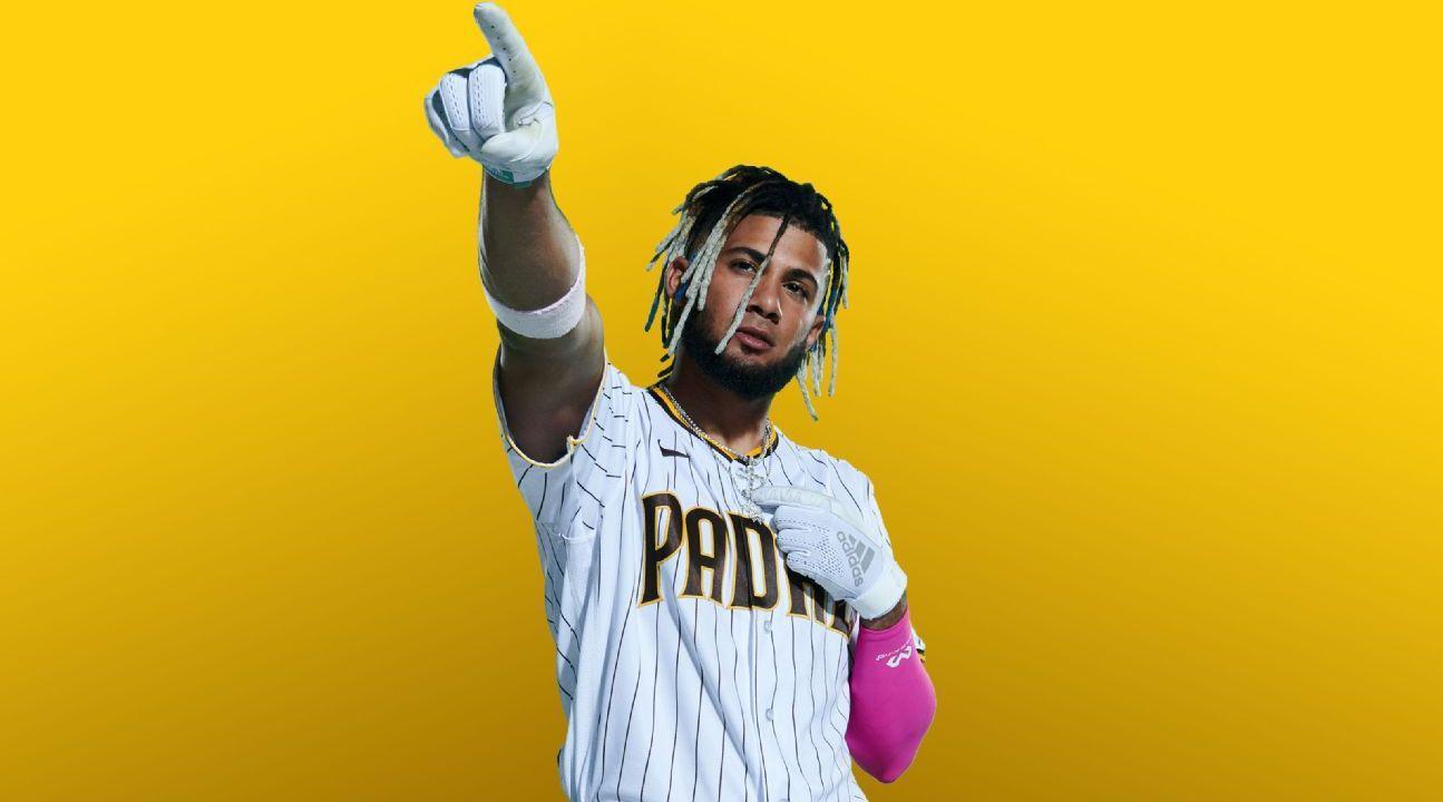 MLB圣地亚哥教士队的21岁游击手Fernando