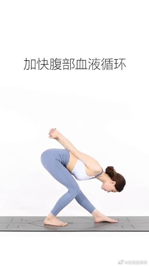 天鹅式改善肠胃,消除胃胀气