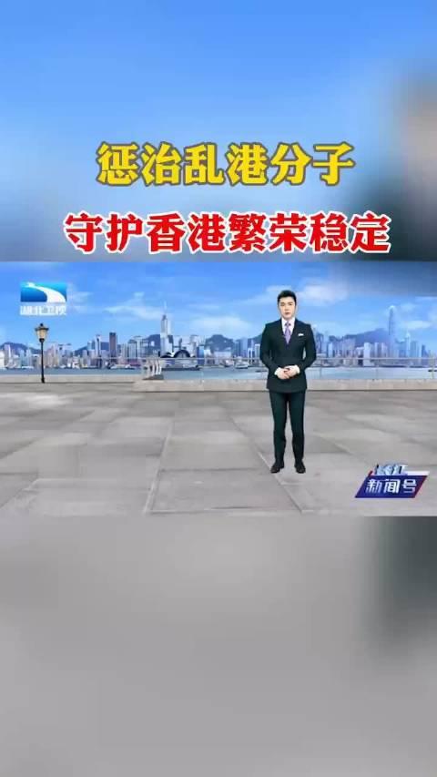 惩治乱港分子,守护香港繁荣稳定