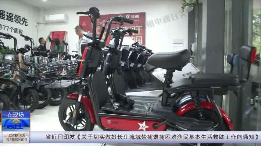"""江都电动车销售乱象:锂电池车""""装""""铅酸电池卖"""