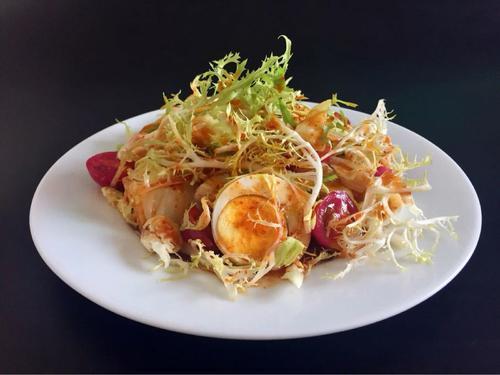 凉菜分享:鸡蛋沙拉、凉拌毛豆、凉拌紫甘蓝的简单做法