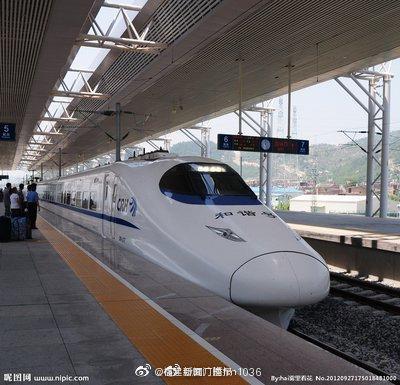 南昌铁路局恢复开行部分动车