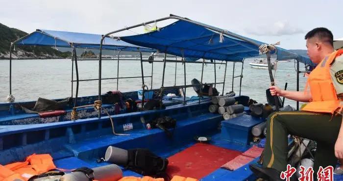 在珊瑚礁保护区非法潜水 三亚海警查处14人
