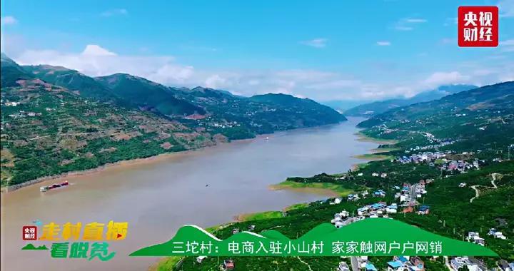 央视直播走进奉节三沱村点赞苏宁易购赋能当地电商发展