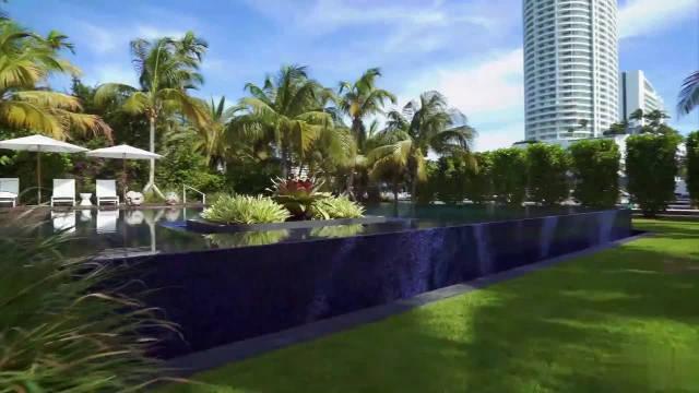 唯美现代豪宅,大游泳池,时尚家居典范
