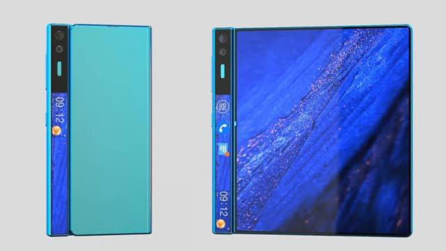 华为折叠屏Mate X2渲染图曝光,全新折叠形式,体验超赞!