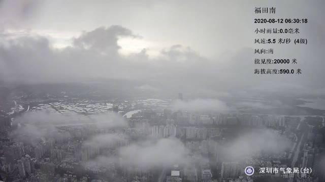 福田区目前降雨减弱,但小伙伴们上班还是需要带伞的呦