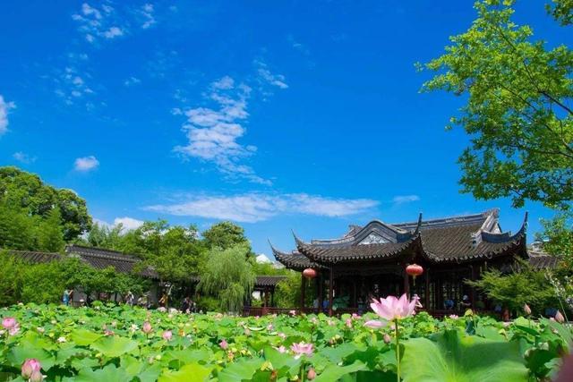 """上海一园林走红,人称另一个""""拙政园"""",风景优美不输苏州"""