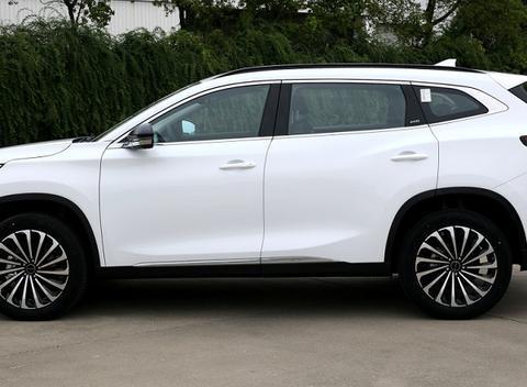 新款星途TXL无伪装谍照曝光 预计将于9月北京车展亮相