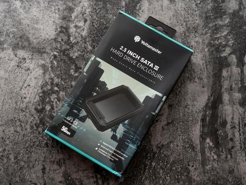 酷炫透明风格设计,Yottamaster DF2-C3移动硬盘盒图赏