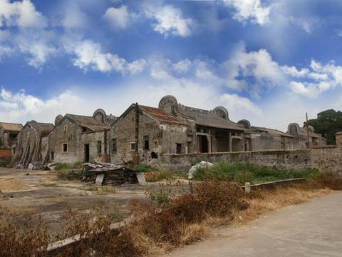 广东被忽略的一处古村,祠堂、家庙兼备,是省重点文物单位