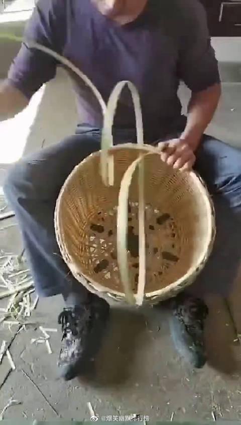 传统手艺,采茶叶用的篮子