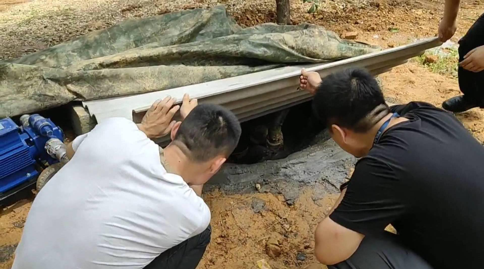 农家乐附近地下暗藏大型储油罐,民警追踪调查发现惊人秘密